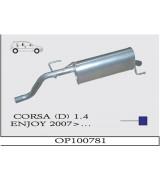 CORSA (D) 1.4 ENJOY ARKA SUS. 2007>...