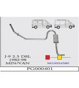 J-9 MIN O.B. 2.5 D 92-98   G/A