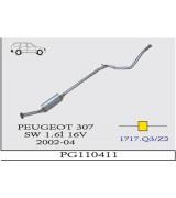 307  STW O.B 1.6i 16V  2002>...G/A