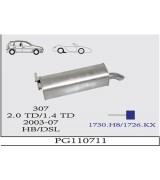 307 DSL ARKA  HB 1.4/2.0 TD 2003>...G/A