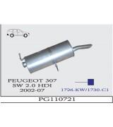307 STW 2.0 HDi DSL  ARKA SUS 2002>...