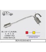 R-19 O.B. 1.4/1.6 KRB Çift  89-92 G/A