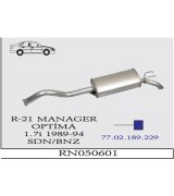 R-21 MANAGER/OPTIMA A.B.  89-94 G/A