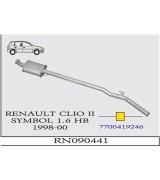 CLIO (2) SYMBOL 1.6 HB O.B 1998>..G/A