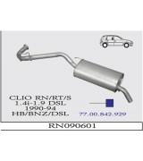 CLIO (I)A.B.1.4İ RN/RT/S /1.9D  90-94  G/A