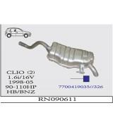 CLIO (2)  A.B.  BSK 1.6 İ 16V 1998>.. G/A