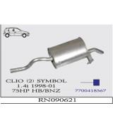 CLIO (2) SYMBOL A.B HB 1.4 İ 98>.. G/A