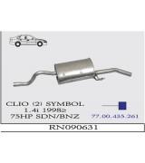 CLIO (2) SYMBOL A.B SDN 1.4 İ 98>.. G/A