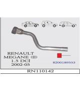 MEGANE II 1.5 DCi  SPR.Lİ  ÖN BORU 2002-05
