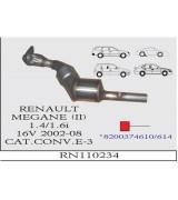 MEGANE (II) 1.4/1.6i 16V K.KONV.SPR.2002-08