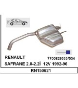SAFRANE 2.0-2.2İ  ARKA SUS. BSK.  1992-96