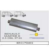 MASTER II  MIN. 2.5 DSL O.B .  97-01.G/A