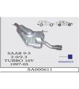 SAAB 2.0/2.3 TURBO 16V ARKA SUS.1997-00