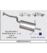 SUBARU IMPREZA 1.6 ARKA SUS. 4X4 1993-00