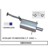 SUBARU FORESTER 2.5 A.B BNZ. 2002 >..