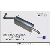 FABIA A.B 1.9 SDi   STW 2001>...... G/A