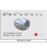 AES INTERLOCK SPIRAL Q63X101 mm.