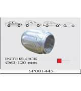 AES INTERLOCK SPIRAL Q63X120 mm.