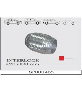 AES INTERLOCK SPIRAL  Q51X120 mm.