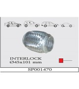 AES INTERLOCK SPIRAL  Q45X101 mm.