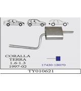COROLLA TERRA A.B 1.3/1.6 97-2002 G/A