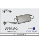 COROLLA 1.4/1.6 i HB ARKA SUS. 2002-04