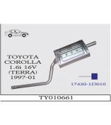 COROLLA TERRA A.B 1.6i 16V SDN 1997-01