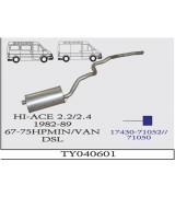 HI-ACE MIN A.B. 2.2 /2.4D 82-89 G/A