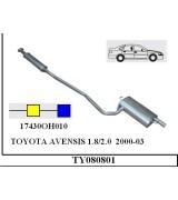 AVENSIS 1.8/2.0 A-O SDN-SW 2000-03