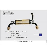HONDA CIVIC  RALLY SUS. 89-91