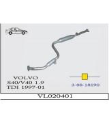VOLVO S-40 / V-40 1.9 TDI ORTA BORULU SUS. 1997>...