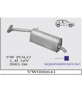POLO 1.4i 16V A.B 2001>... G/A