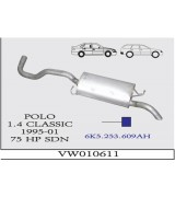 POLO CLASSIC  A.B.75 HP 1.6İ  97-2001 G/A