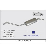 GOLF II  A.B 1.3/1.6  BNZ 83-92 G/A