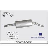 GOLF II 1.3 /1.6A.B. 1985-92 BNZ. G/A