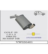 GOLF II O.B 1.0-1.3  BNZ 85-92G/A