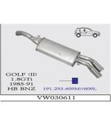 GOLF II  A.B 1,8 GTİ  ÇİFTLİ   1985-91 G/A