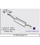 GOLF 3 A.B. 1.8 - 2.0  BNZ. 90-96 G/A