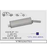 GOLF 1 ARKA SUS. 1.6 GTİ .77-82 G/A