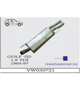 GOLF 3  ARKA T-Ç 1.9TDİ 1995-97