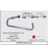 TRANSPORTER 2-3 ÖN B. SPR. 1.6D  89-92 G/A