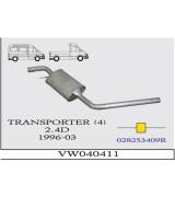 TRANSPORTER 4  O.B 2.4D 96-2003  G/A