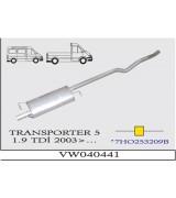 TRANSPORTER (5) 1.9  TDi ORTA SUS. 2003>..