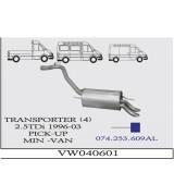 TRANSPORTER 4  A.B. 2.5 TDI  96-03 G/A