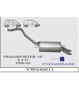 TRANSPORTER 4 MİN A.B. 2.4 D 96-03 G/A