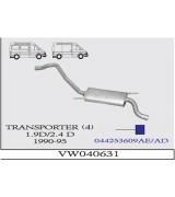TRANSPORTER  4 A.B. 1.9 /2.4 D 1990-95 G/A