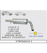 GOLF 4 O.B 1.8İ/2.0İ  1997>..G/A