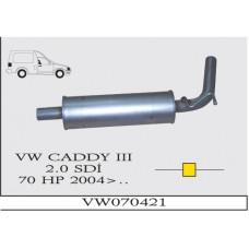 CADDY (III) 2.0 SDi  70HP ORTA SUS. 2004>...