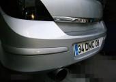 Opel Efective Exhaust