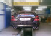 Mercedes Efective Exhaust
